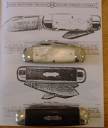 Case Brothers Catalog page and knives