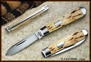T.A. DAVISON knives