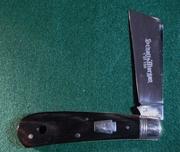 2009 Schatt & Morgan Cotton Sampler SFO Buffalo Horn