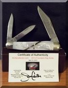 "iKC Founders Knife/""Dawn of a New Era"" knife."