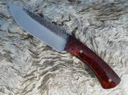 Honduran Rosewood Burl Skinner TAU Custom Knives