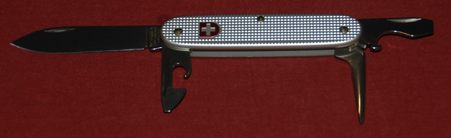 Model 1961 (silver alox handles)