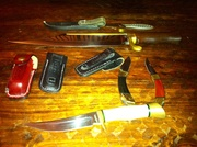my grandfather Ensign knives with Hibbens