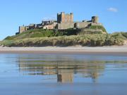 Bamburgh castle .