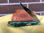 Case Slimline Trapper Pocket Worn Bermuda Green