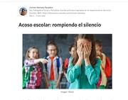 Acoso escolar: rompiendo el silencio