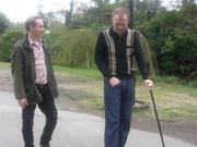 Edwyn and Roddy, Battle, Easter 2009