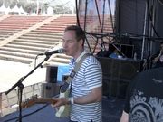 Roddy soundchecks