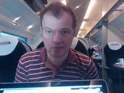 Ed on train jpg