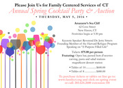 Family Centered Servies Cocktail Invite 2016