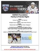 Sound Tigers partner with SARAH