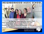 All That Jazz! NMS Faculty Concert Series