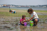 Exploring at Long Wharf Nature Preserve