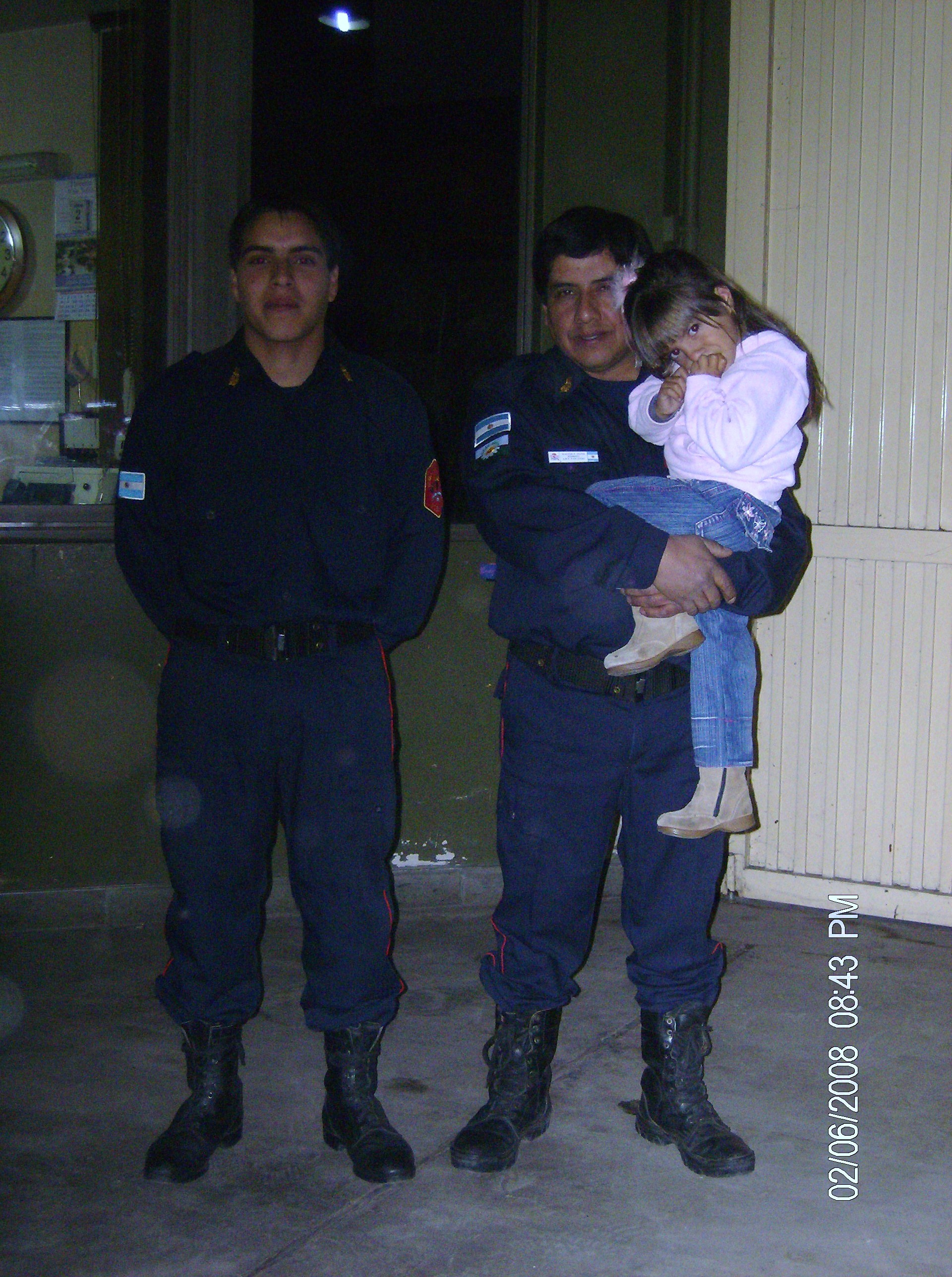 mi padre,mi hemarnita y yo