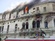 de lazaro presidente asoc. bomberos voluntarios de cuba