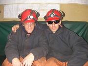 Rocco y yo de guardia  en el buque