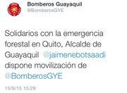 Incendios forestales en Quito