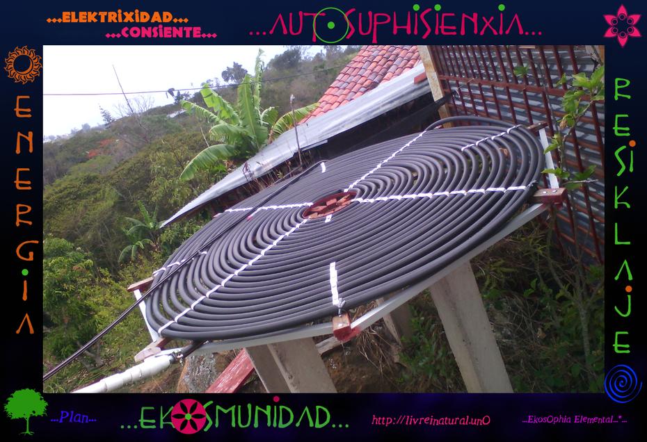 ...El Calentador Solar Artesanal ...O.. (2)