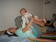 mama und baby yoga
