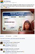 Sam's licence