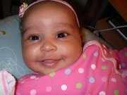 liliy smiling 2 months