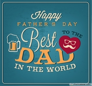 Happy-Fathers-Day-Greeting-Card-Vintage-Style