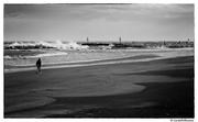 Burrasca in spiaggia