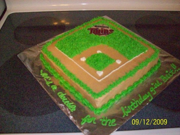 Outstanding Minnesota Twins Birthday Cake Decorating Community Cakes We Bake Funny Birthday Cards Online Elaedamsfinfo