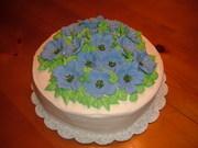 Petunia cake