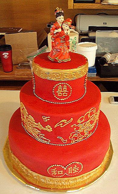 Chinese Wedding Cake picnik