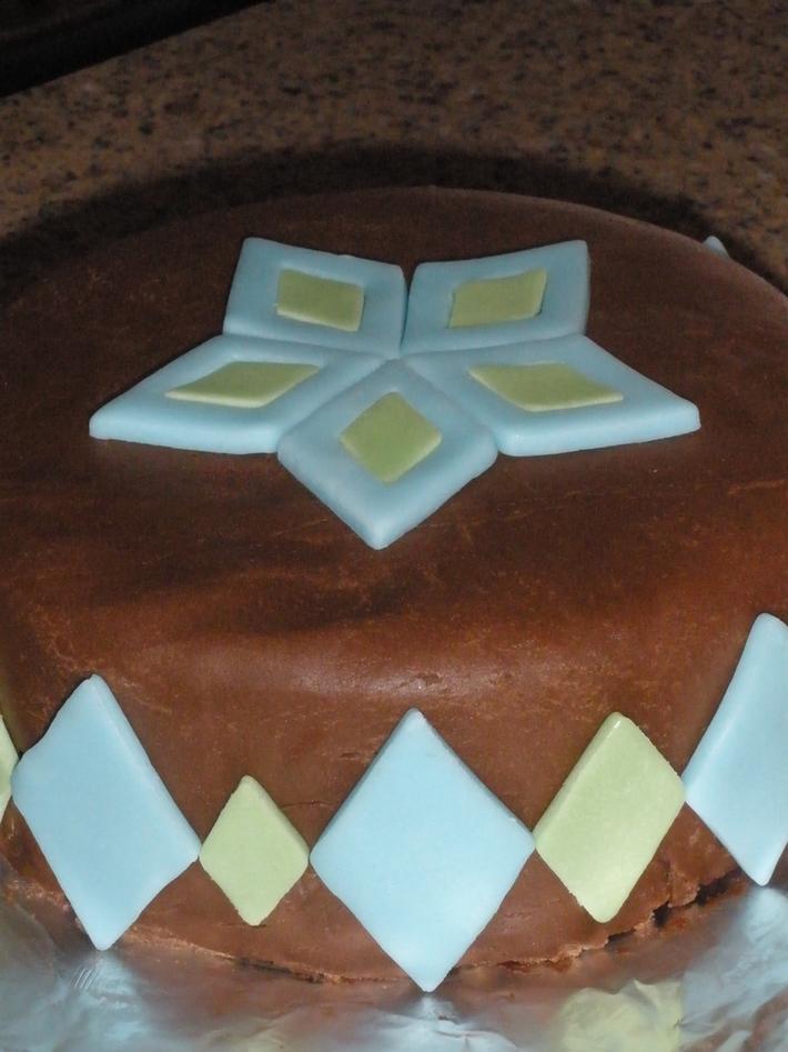 Chocolate Contest - Preppy Cake