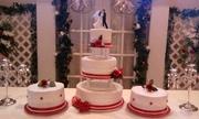 a wedding cake i made for my nephew