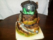 Halloween cake (Back)