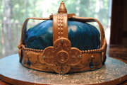 Prince's Crown First Birthday Cake
