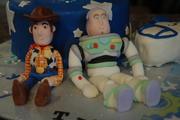 Woody and Buzz Lightyear Cake