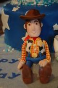 Woody fondant figure