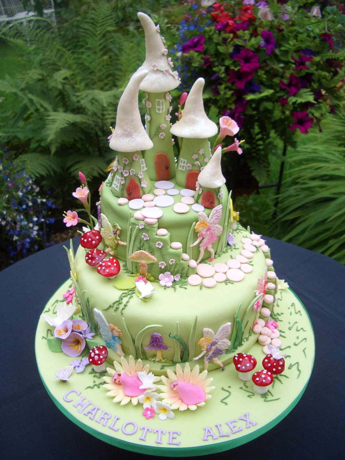 The Twins Birthday Cake