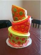 Topsy Turvey cake