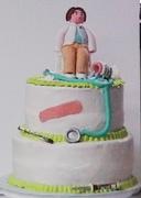 Medical cake.