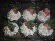 strawberry short cake cupcakes
