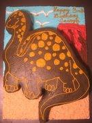 Chocolate Buttercream Dinosaur