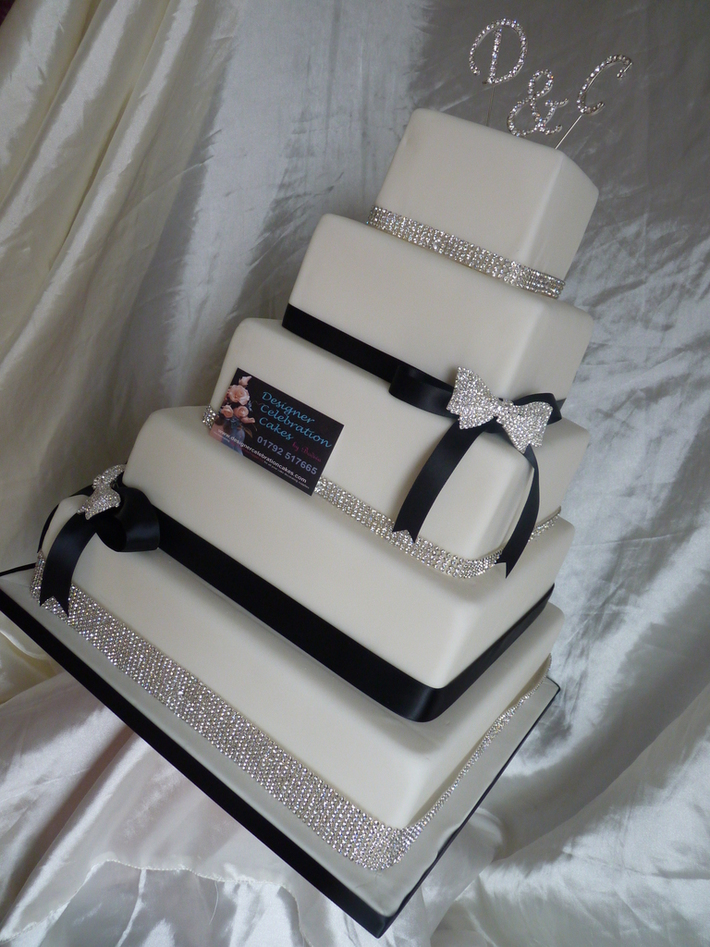 bling wedding cake - 922F
