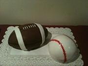 Football and Baseball