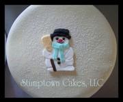 Simple Cookie Cutter Snowman