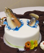Bride's Big Catch