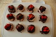 Chocolate Drizzle Mini Cakes
