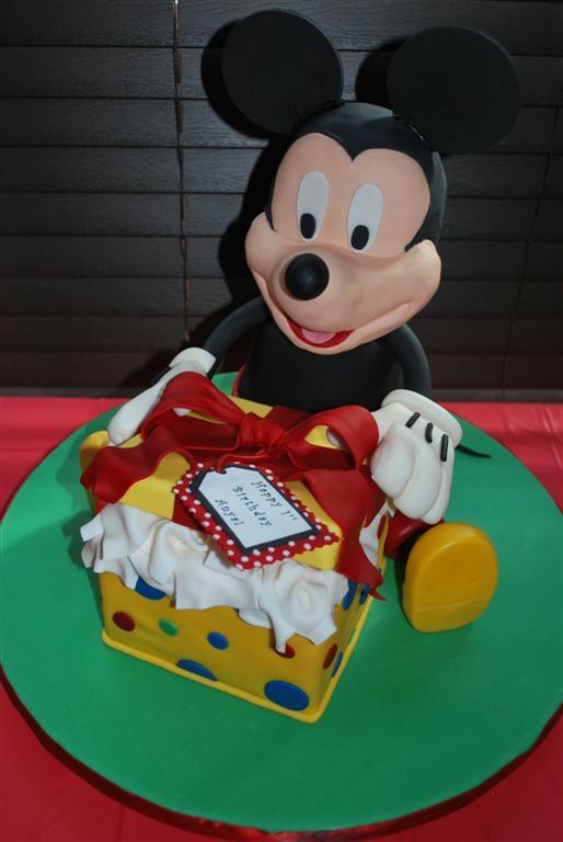 Mickey's Present