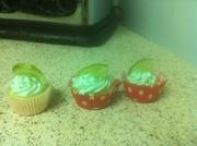 Margarita mini cupcakes