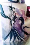 Free Hand Edible Gel Painting
