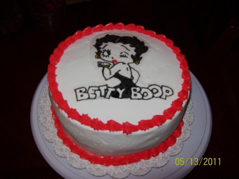 Swell Betty Boop Birthday Cake Cake Decorating Community Cakes We Bake Funny Birthday Cards Online Hendilapandamsfinfo
